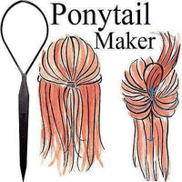 Pony Tail Maker Styling Tool Ponytail Style Girls Womens Kids Hair Accessories Pony Tail Maker Styling Tool Ponytail Style Girls Womens Kids Hair Accessories