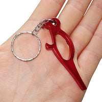 Red Bird Key Ring Chain Fob Beer Bottle Opener Keyring Keychain Bag Charm Toy