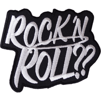 Rock N Roll Patch Iron Sew On Jeans T Shirt Bag Clothes Music Embroidered Badge