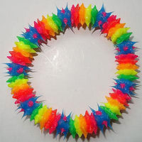 Rubber Silicone Rainbow Wristband Bracelet Bangle Gay Pride Lesbian LGBT Jewelry