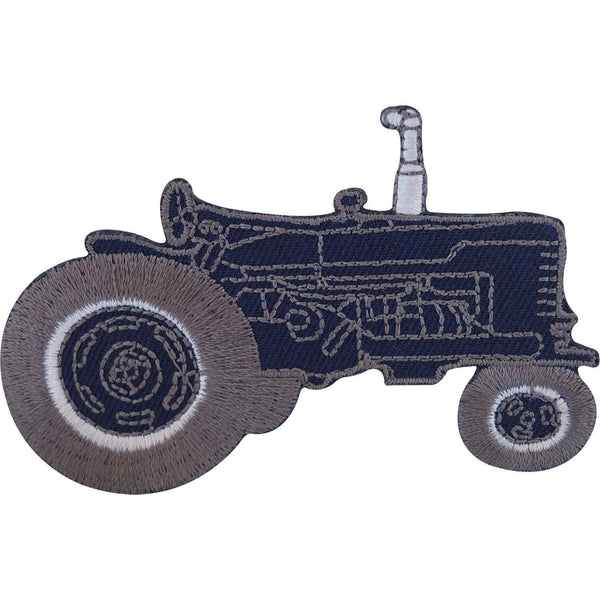 Tractor Iron On Patch Sew On Farmer T Shirt Jacket Jeans Coat Embroidered Badge