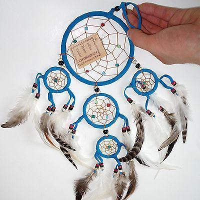 Turquoise Indian Dreamcatcher Boys Girls Bedroom Decoration Small Dream Catcher