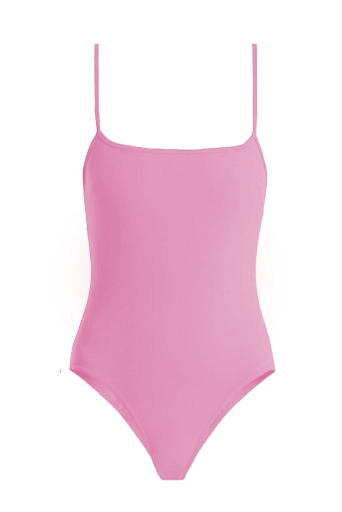 THE TREVOR ONE PIECE IN HOT PINK