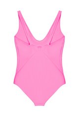 THE ZENO ONE PIECE IN HOT PINK