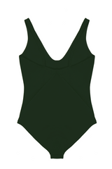 THE ZENO ONE PIECE IN HUNTER GREEN