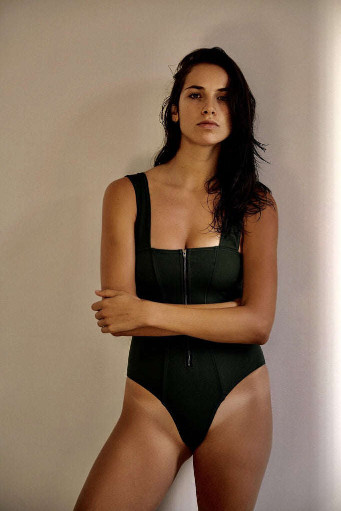 THE KELSEY ONE PIECE IN BLACK