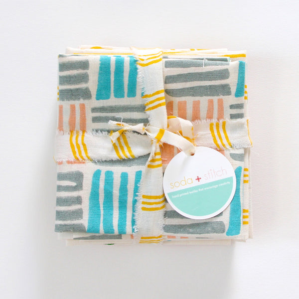 fat quarter cotton/linen bundles