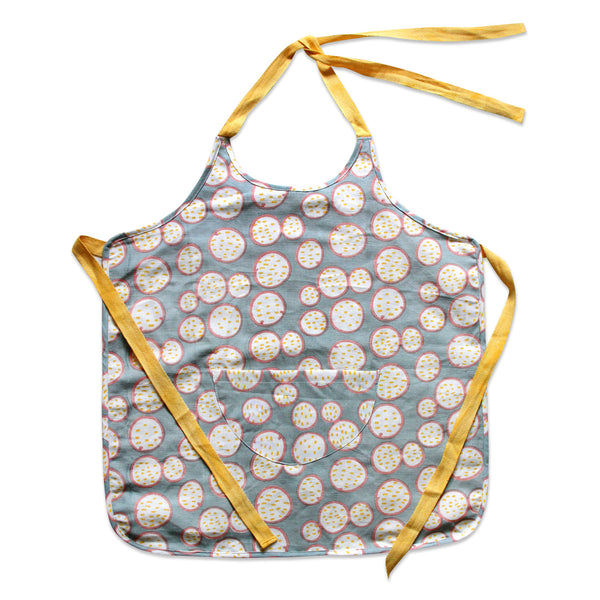 poppy passionfruit kids apron