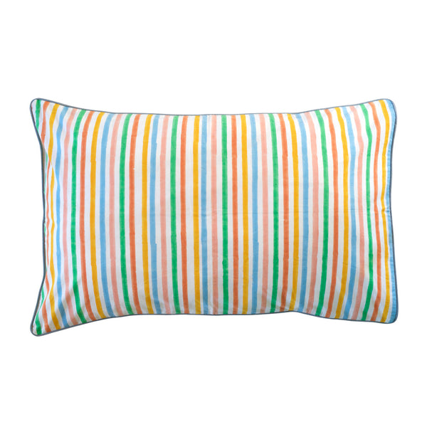 candy stripe pillowcase
