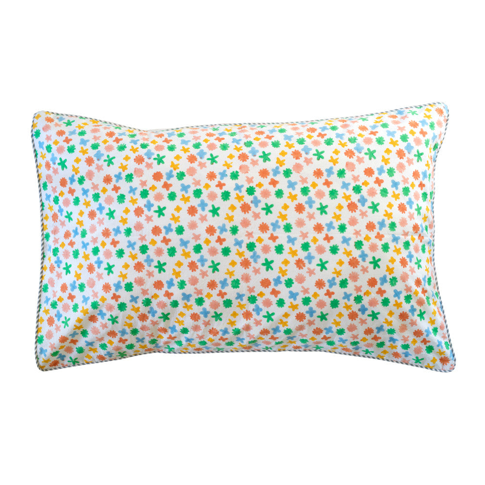 floral spot pillowcase
