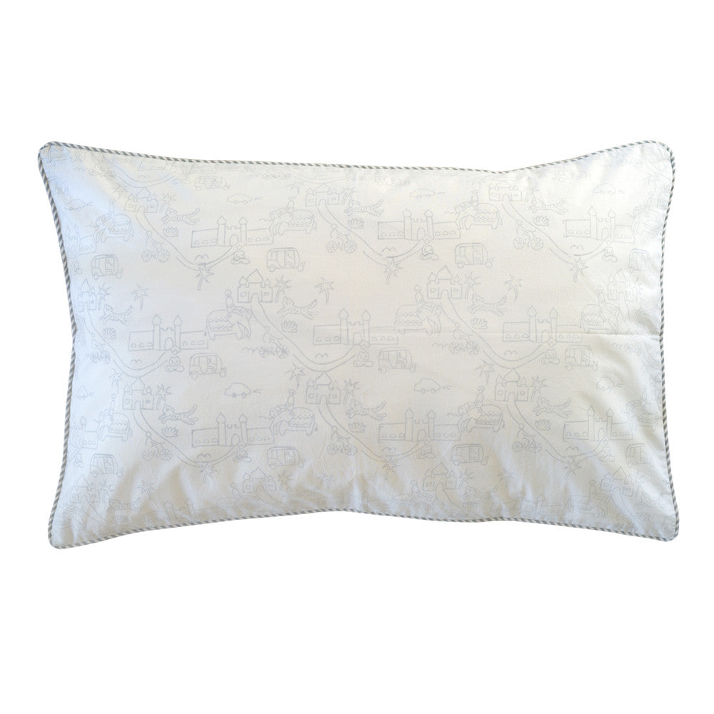 india village pillowcase