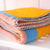 stripe block kids blanky