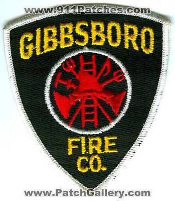 Gibbsboro Fire Company Co Department Dept FD Rescue EMS Patch New Jersey NJ OLD - SKU80