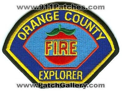 Orange County Fire Department Dept Authority OCFA Explorer Patch California CA - SKU152