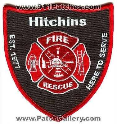 Hitchins Fire Rescue Department Dept FD EMS Patch Kentucky KY Patches NEW