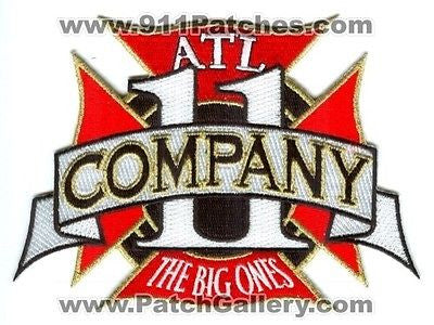 Atlanta Fire Department Company 11 Station Rescue EMS AFD Patch Georgia GA