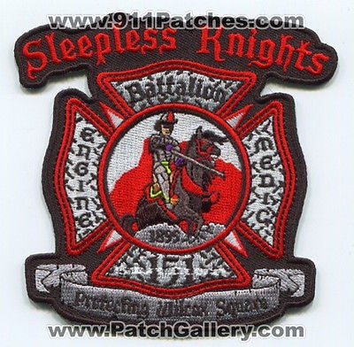Castle Rock Fire Rescue Department Station 151 CRFD Company Patch Colorado CO NS SKU54