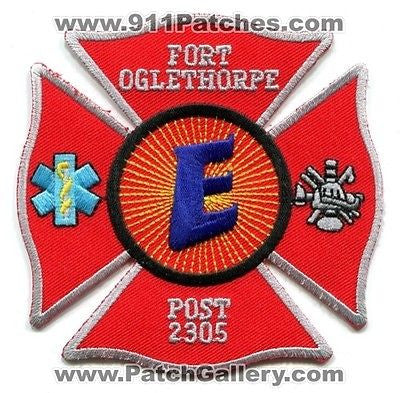 Fort Ft Oglethorpe Fire Rescue Department Explorer Post 2305 Patch Georgia GA - SKU76