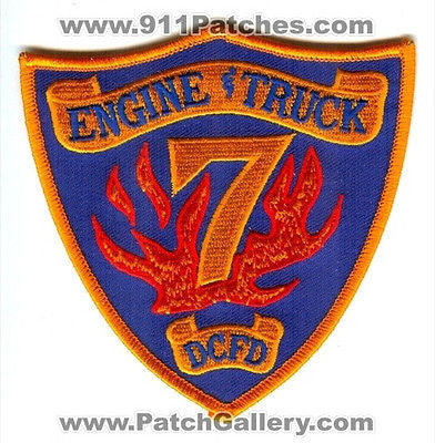 Dekalb County Fire Rescue Department Engine Truck 7 Station Co Patch Georgia GA