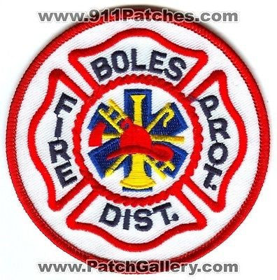 Boles Fire Protection District Department Dept FD Rescue EMS Patch Missouri MO SKU46 SKU114