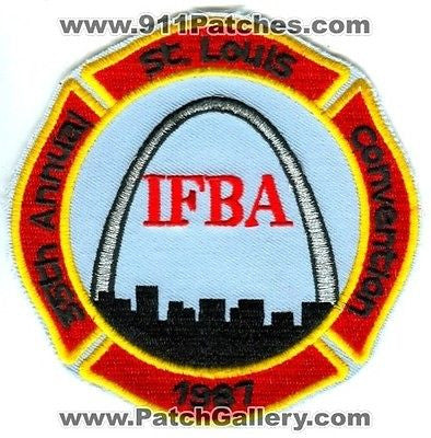 International Fire Buff Associates IFBA 35th St Louis Convention 1987 Missouri MO - SKU93