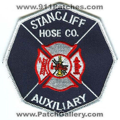 Stancliff Hose Company Auxiliary Fire Department Rescue Patch Pennsylvania PA