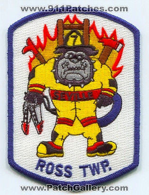 Seville Volunteer Fire Company 7 Ross Township Dept Twp Patch Pennsylvania PA
