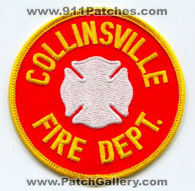 Collinsville Fire Department Dept CFD Rescue EMS Patch Illinois IL Patches NEW