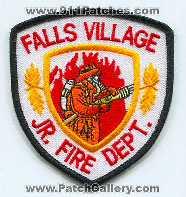 Falls Village Junior Jr Fire Department Dept FD Rescue EMS Patch Connecticut CT - SKU73
