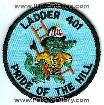 Edge Hill Fire Department Ladder 401 Truck Company Station Patch Pennsylvania PA - SKU70