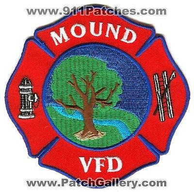 Mound Volunteer Fire Department Patch Texas TX SKU137