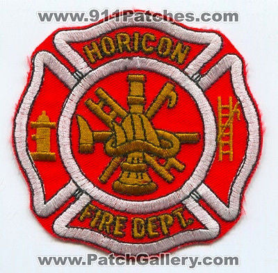 Horicon Fire Department Dept HFD Rescue EMS Patch Wisconsin WI Patches NEW - SKU87