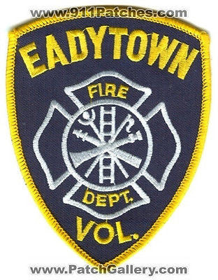 Eadytown Volunteer Fire Department Dept EVFD Rescue EMS Patch Pennsylvania PA - SKU69