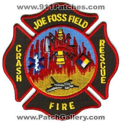 Joe Foss Field Sioux Falls Regional Airport Crash Fire CFR Patch South Dakota SD