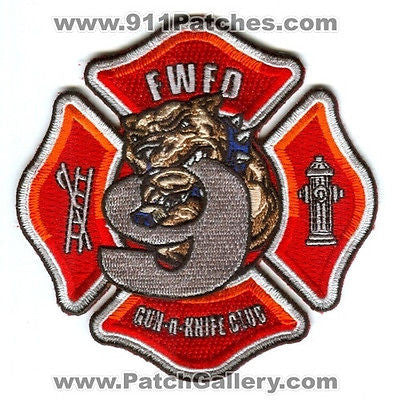 Fort Wayne Fire Department Station 9 Company FWFD Rescue EMS Patch Ft Indiana IN