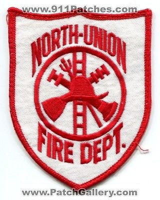 North Union Fire Department Dept FD Rescue EMS Patch Pennsylvania PA Patches - SKU147