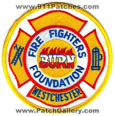 Westchester Fire Fighters Burn Foundation Department Rescue Patch New York NY