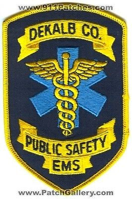 Dekalb County Public Safety Emergency Medical Services EMS Patch Georgia GA 5.25