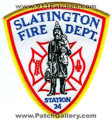 Slatington Fire Department Station 24 Company Rescue EMS Patch Pennsylvania PA