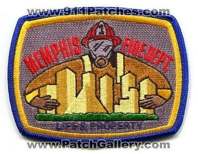 Memphis Fire Department Dept MFD Rescue EMS Company Station Patch Tennessee TN SKUFC1