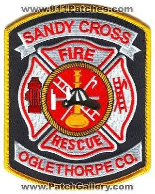 Sandy Cross Fire Rescue Department Rescue EMS Oglethorpe County Patch Georgia GA - SKU171