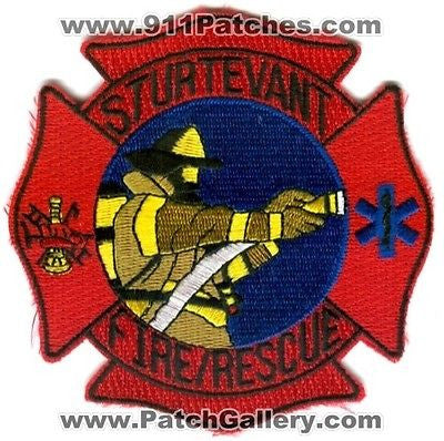 Sturtevant Fire Rescue Department Dept EMS Patch Wisconsin WI Patches NEW