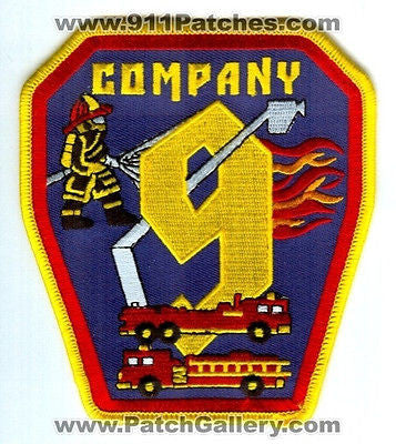 Dekalb County Fire Rescue Department Company 9 Station DCFD Patch Georgia GA