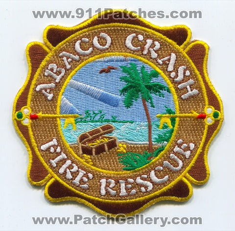 Bahamas - Abaco International Airport Crash Fire Rescue CFR Department Patch