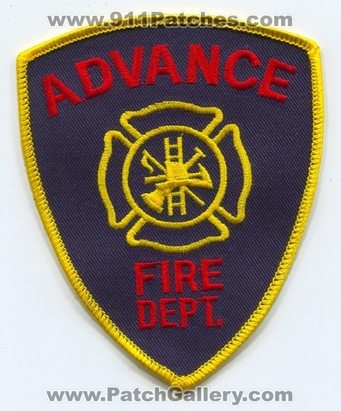 Advance Fire Department Patch Unknown State