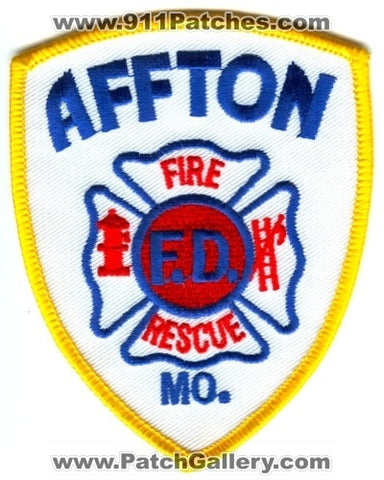 Affton Fire Rescue Department Patch Missouri MO