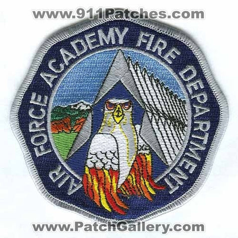 Air Force Academy AFA Fire Department USAF Military Patch Colorado CO