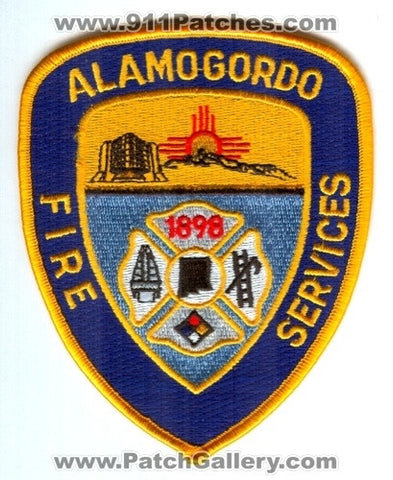 Alamogordo Fire Services Department Patch New Mexico NM