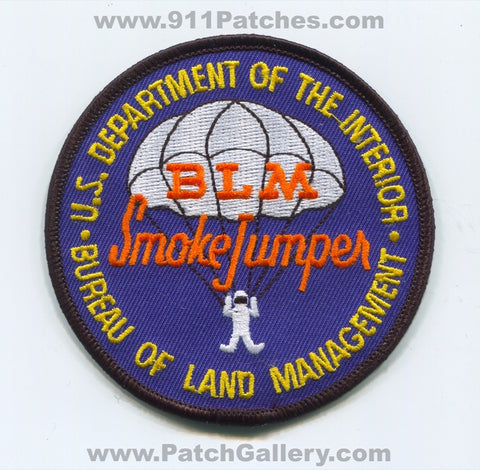 Alaska BLM Smokejumpers Forest Fire Wildfire Wildland Patch Alaska AK