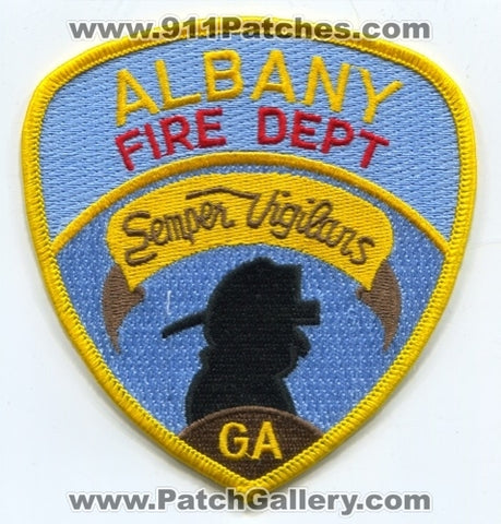 Albany Fire Department Patch Georgia GA